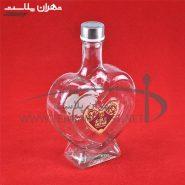 بطري آب قلبي گل رز