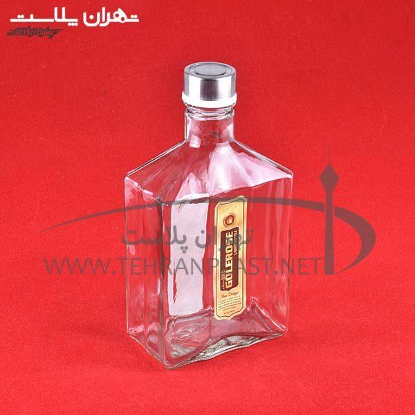 بطري آب ياقوت گل رز