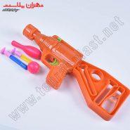 تفنگ 2کاره چسبونک